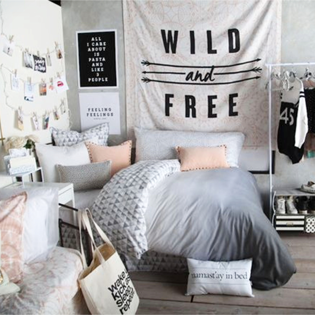 How To Decorate A Small Bedroom For A Teenager Teen Bedroom Makeover Ideas Lures And Lace
