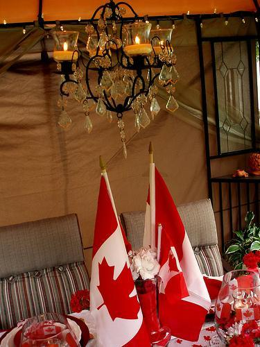 Fall Living Room Decor 50 Canada Day Table Decorations, Centerpieces And Summer
