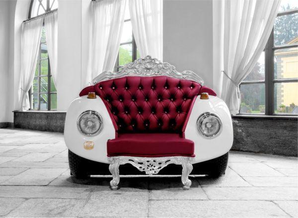 Italienischer Couchtisch Recycling Car Parts For Unique Furniture, Amazing Recycled