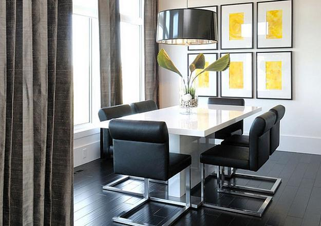 22 Modern Dining Room Decorating Ideas With Contemporary Vibe - Dining Room Decoration Modern