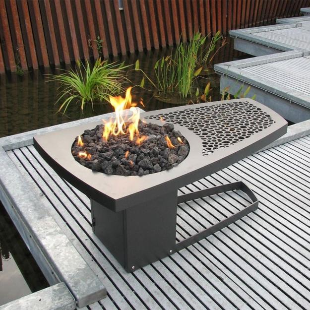 Gas Feuerstelle Garten 25 Contemporary Fireplace Design Ideas For Modern Outdoor