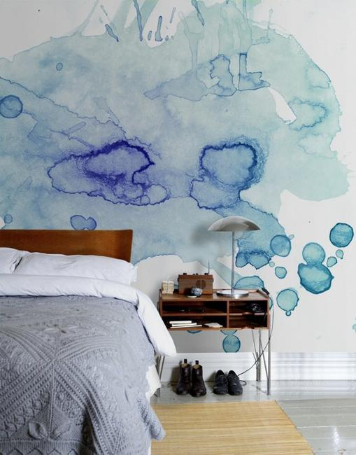 Wohnzimmer Interior 22 Creative Wall Painting Ideas And Modern Painting Techniques