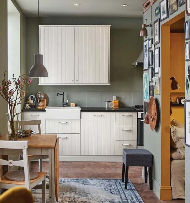 Kabinet Dapur Ikea Ways To Open Small Kitchens, Space Saving Ideas From Ikea