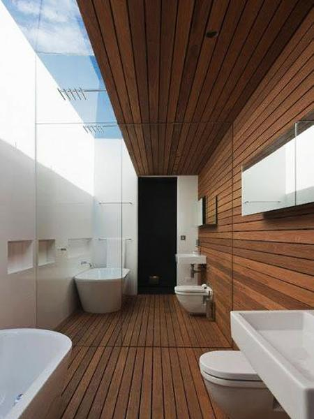 Modern Bathroom Design Trends Offering 6 Great Alternatives To Simple Wall Painting