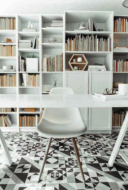 Scandinavian Interior Black N White Decorating With Color For Home Office