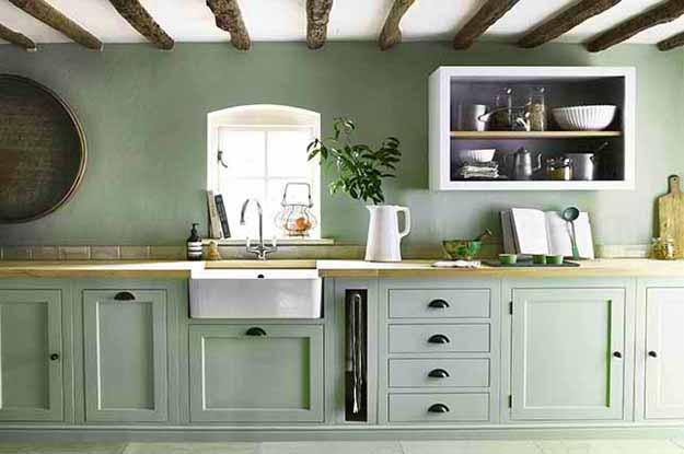 Mintgrün Modern Color Trends 2020, Tranquil Dawn Bluish Grayish Green