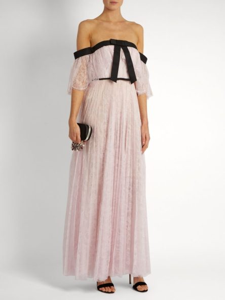 Giambattista Valli_pleated OTS gown