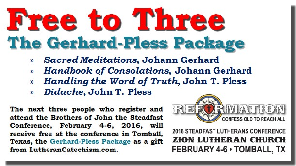 Free Stuff -- Conference Registration Gift to Next Three Registrants