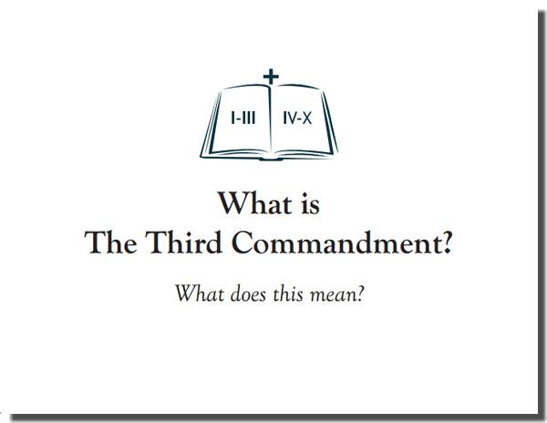 Memory Card - 3rd Commandment Question - 1921 Triglot - Kris Brown