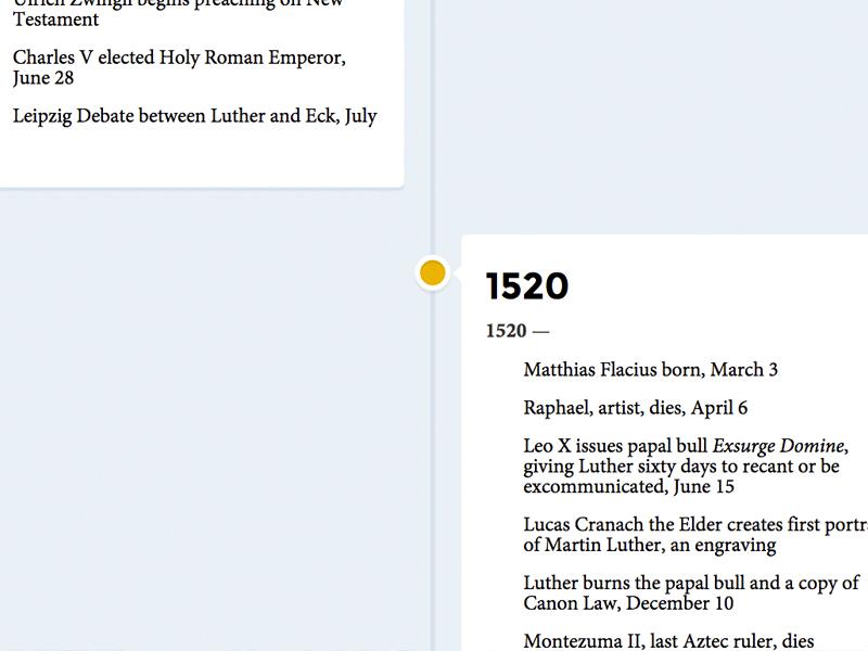 A Reformation Timeline - Lutheran Reformation - timeline pictures