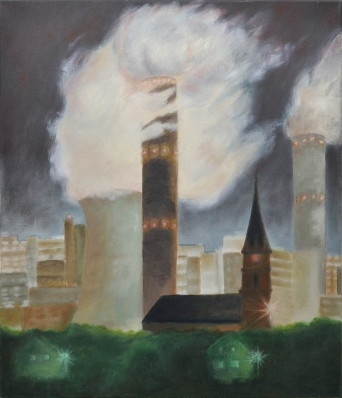 Kirche unter Dampf