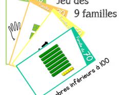 jeu des 9 familles numération