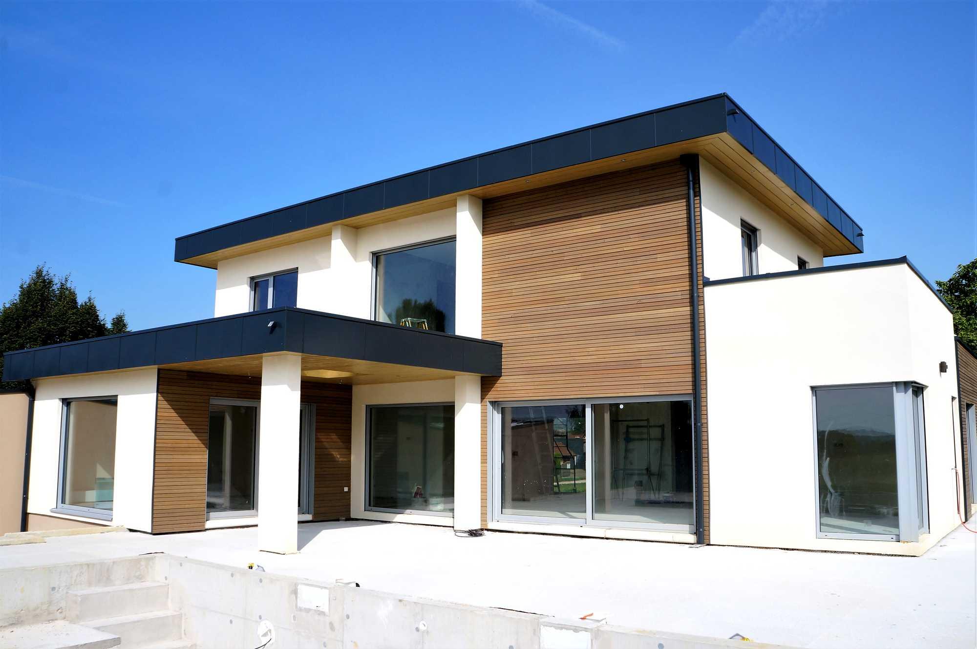 prix au m2 maison ossature bois latest prix m maison. Black Bedroom Furniture Sets. Home Design Ideas