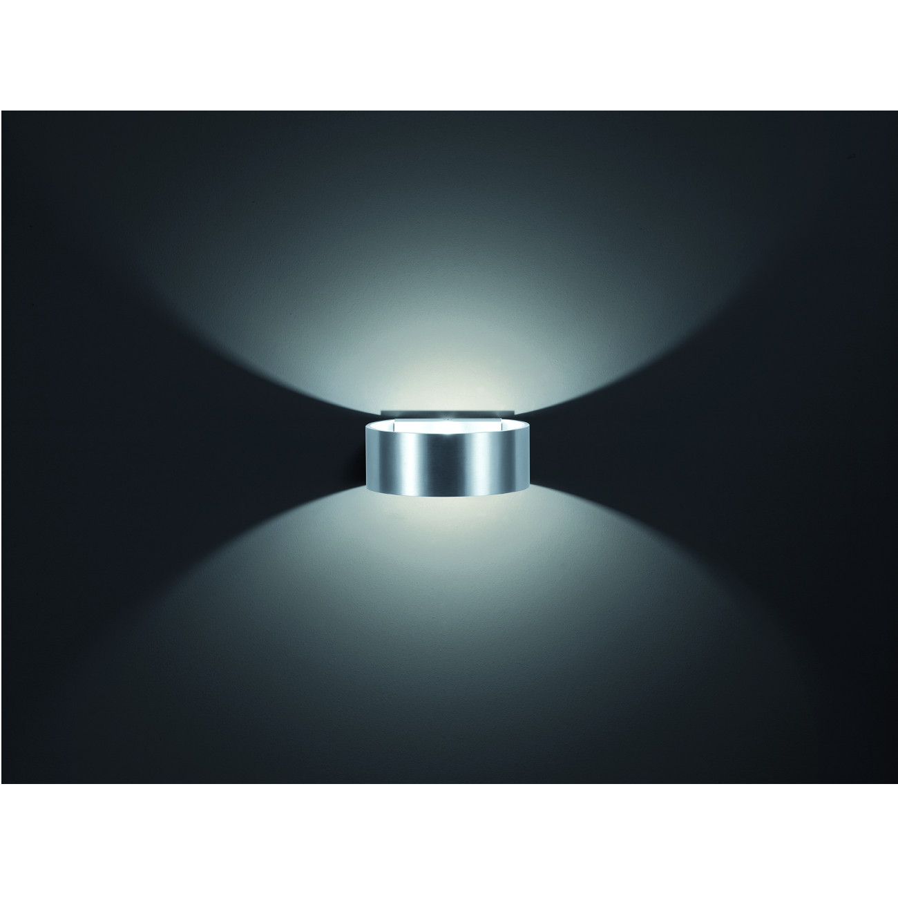 Wandleuchten Design Stilechte Wandleuchte Led Up And Downlight Design Rund