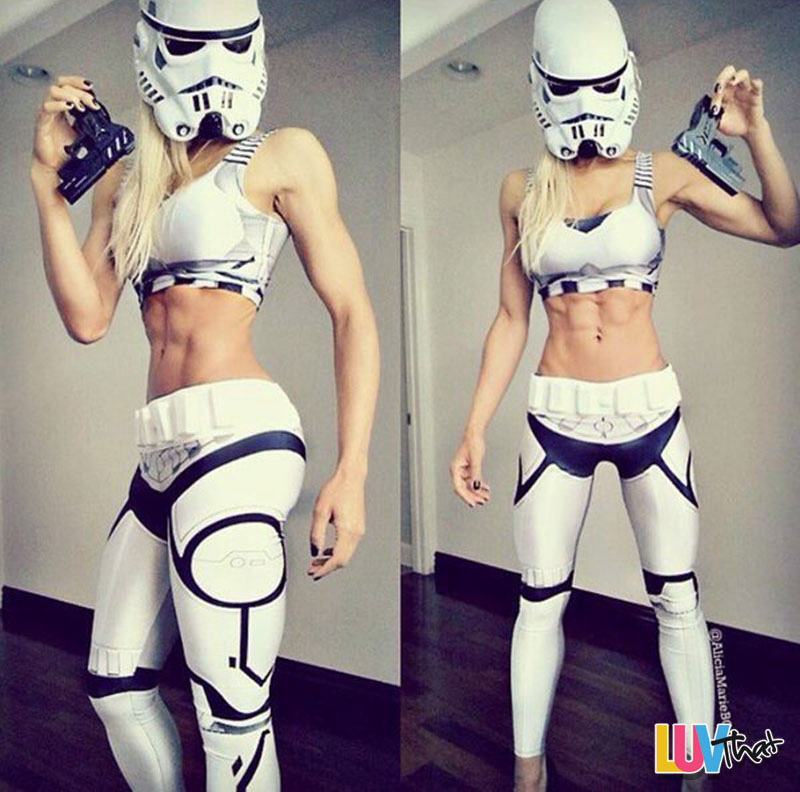 Wallpaper Tank Girl Sexy Star Wars Costumes Luvthat