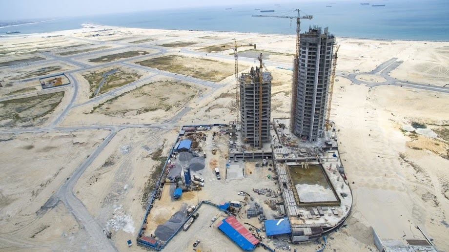 Photo Credit Aerial view of Eko Pearl Towers l