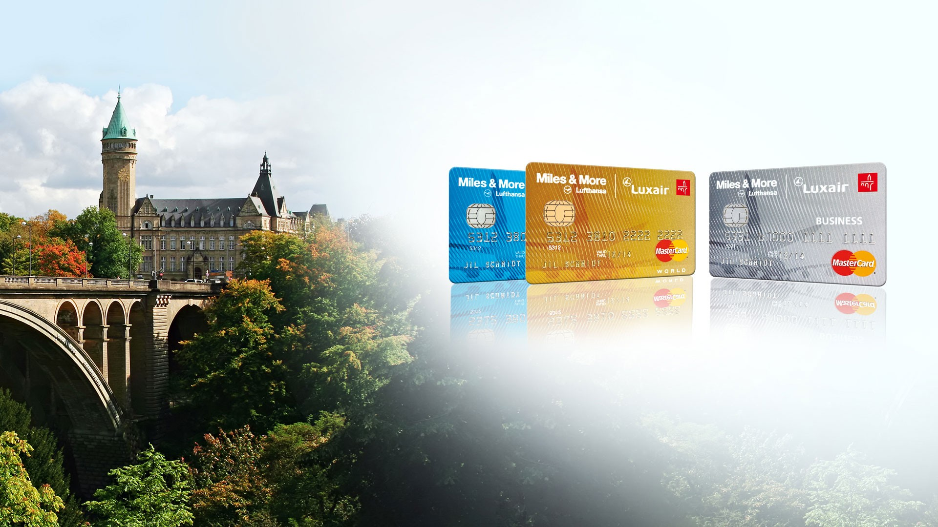 Miles And More Kreditkarte Fremdwährung Master Card Miles More Luxair