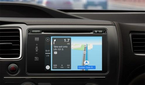 CarPlay GPS