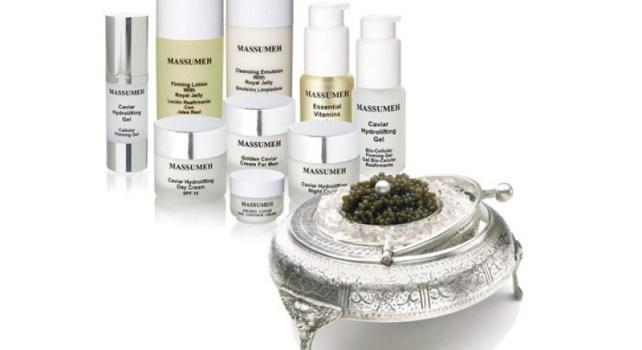 Massumeh : Des crèmes à base de caviar