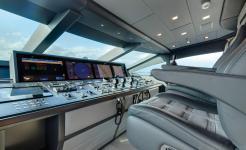 Super yacht Moonraker - Wheelhouse