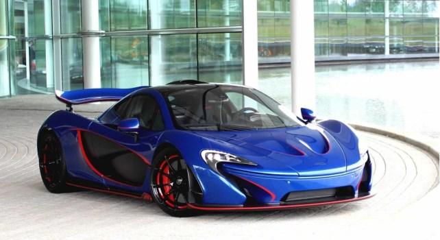 McLaren Special Operations McLaren P1 : Une édition bleue du plus bel effet