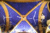 Beautiful ceiling of Saint-Martin Church