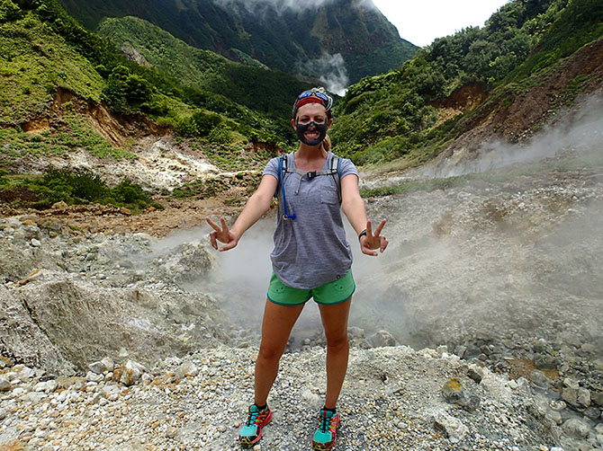 Valley of Desolation In Dominica - Mud Masks