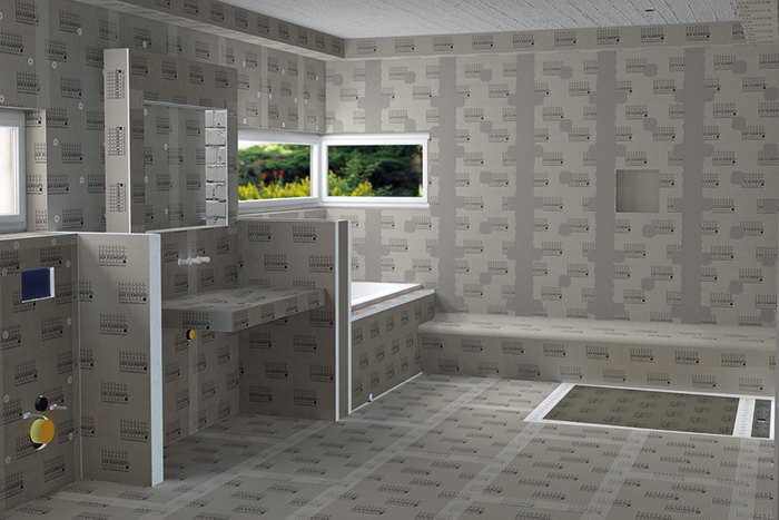 Petit Meuble Wc Lux Elements - Constructions Panels And Polystyrene Hard