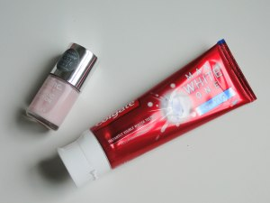 Colgate Max White One Optic Toothpaste And Nails Inc Nail