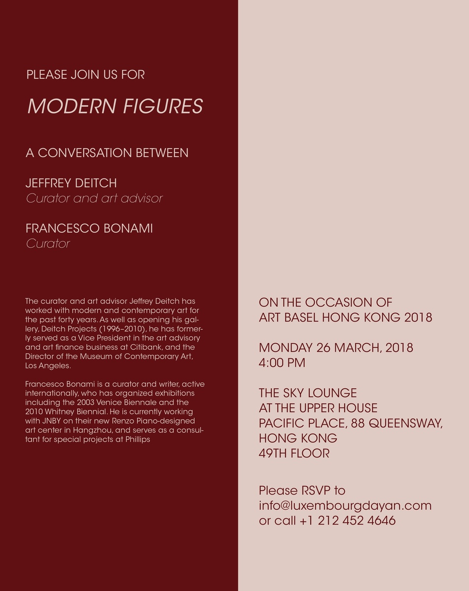 Francesco&#39 Modern Figures A Conversation Between Jeffrey Deitch And
