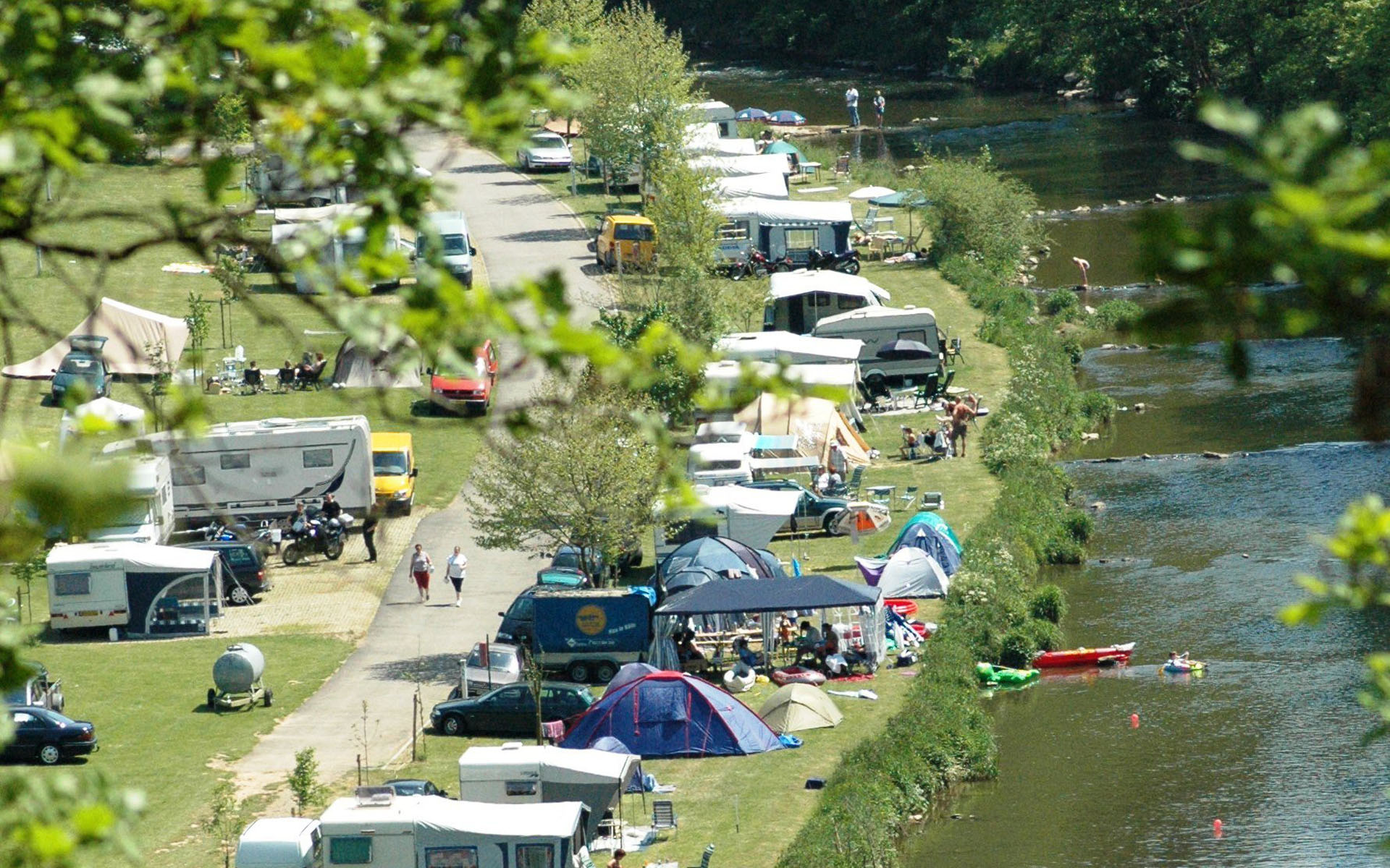 Camping Ardennen Luxemburg Met Zwembad Campings Luxemburg Stad