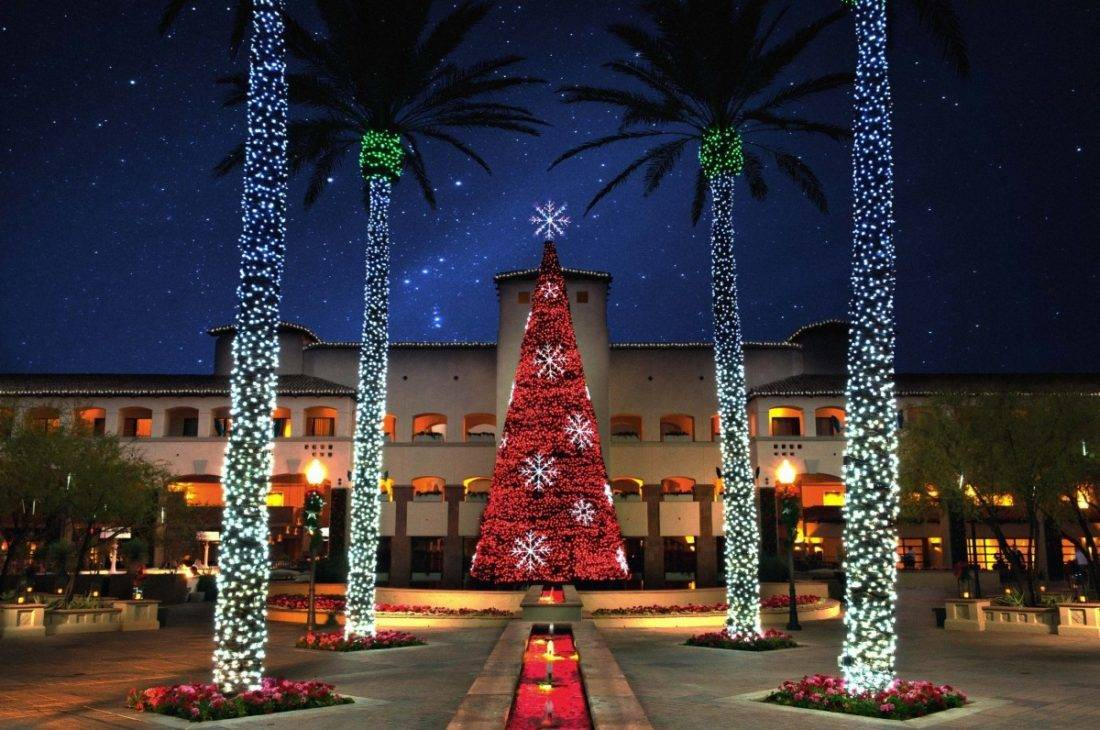 Best Place For Christmas Decorations The 17 Best Luxury Christmas Hotels For An Over The Top Holiday