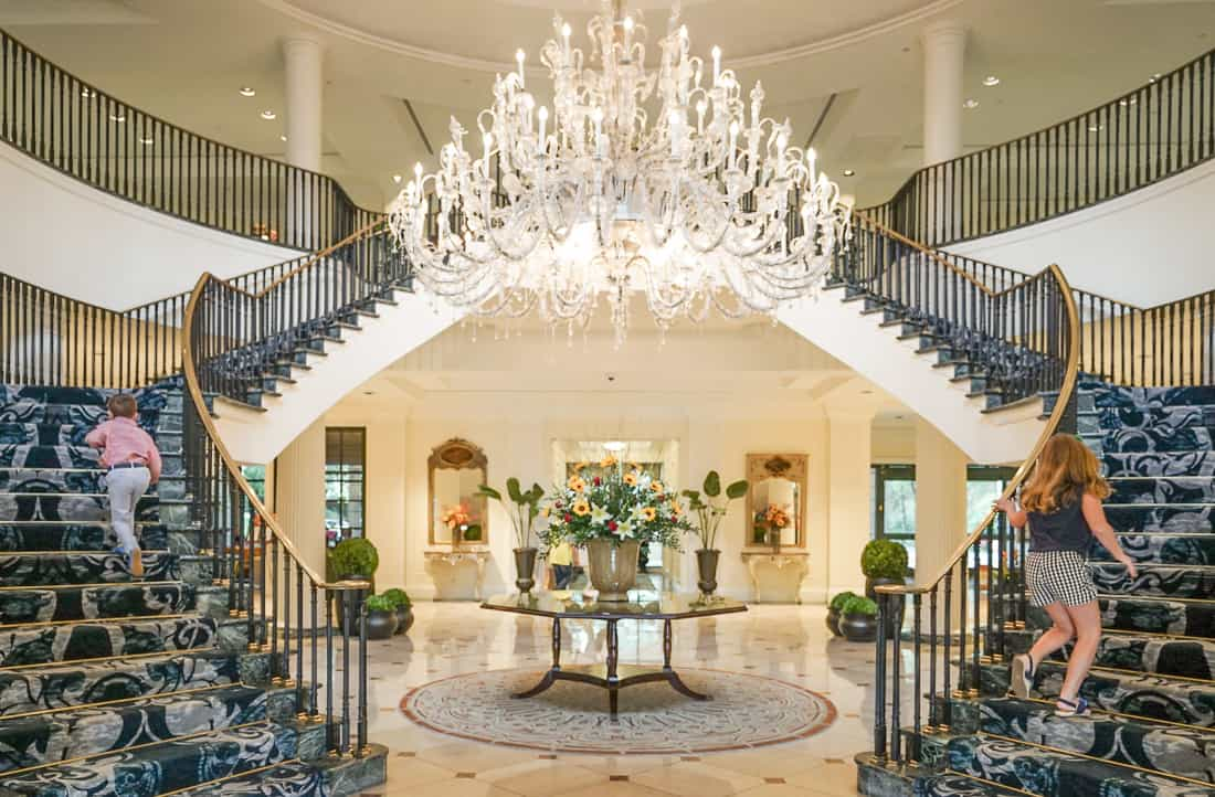 Hotel Lobby Belmond Charleston Place Hotel A Review For Families