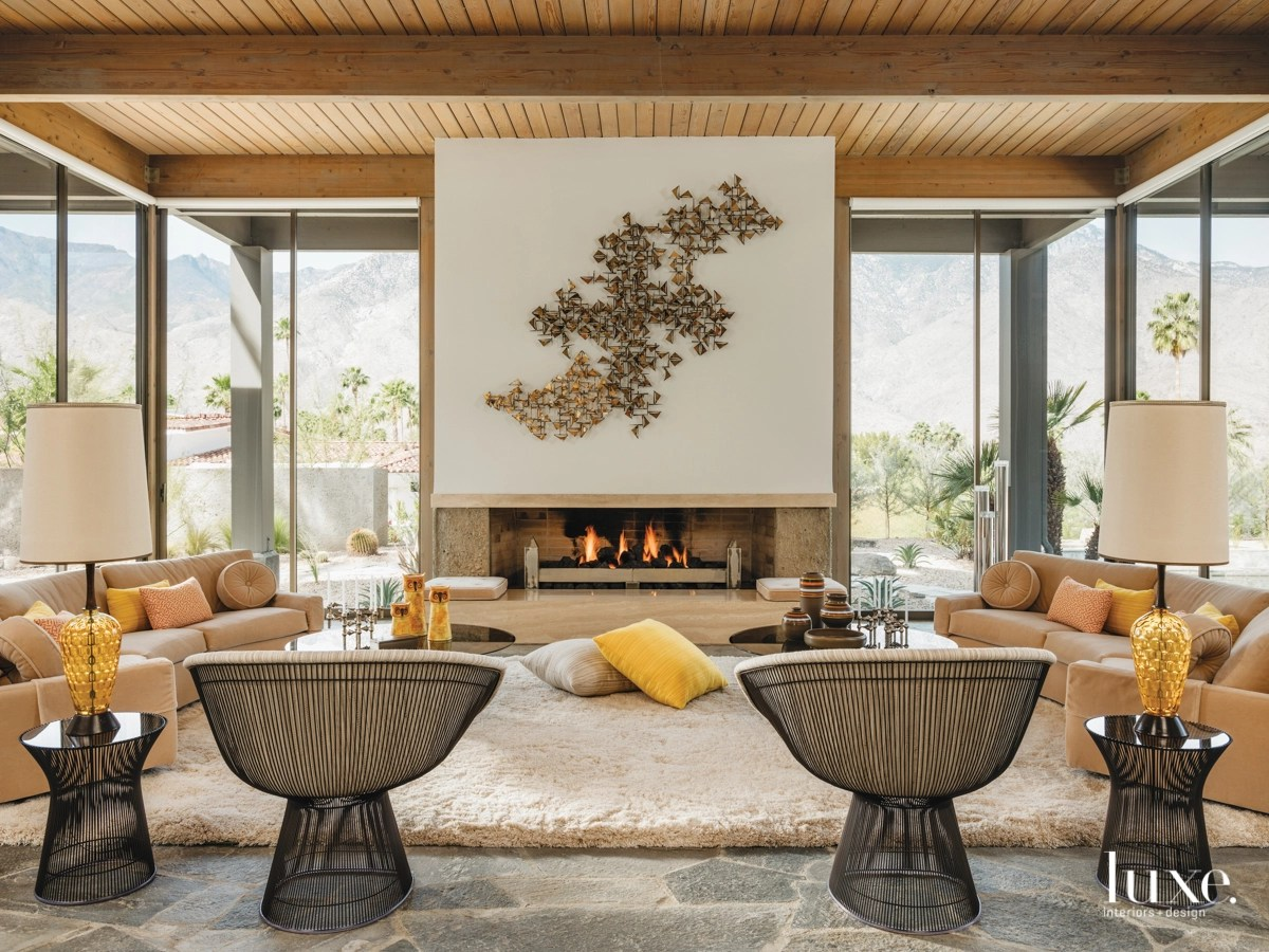 A Reno Of A 1975 Palm Springs Abode Recaptures Its History