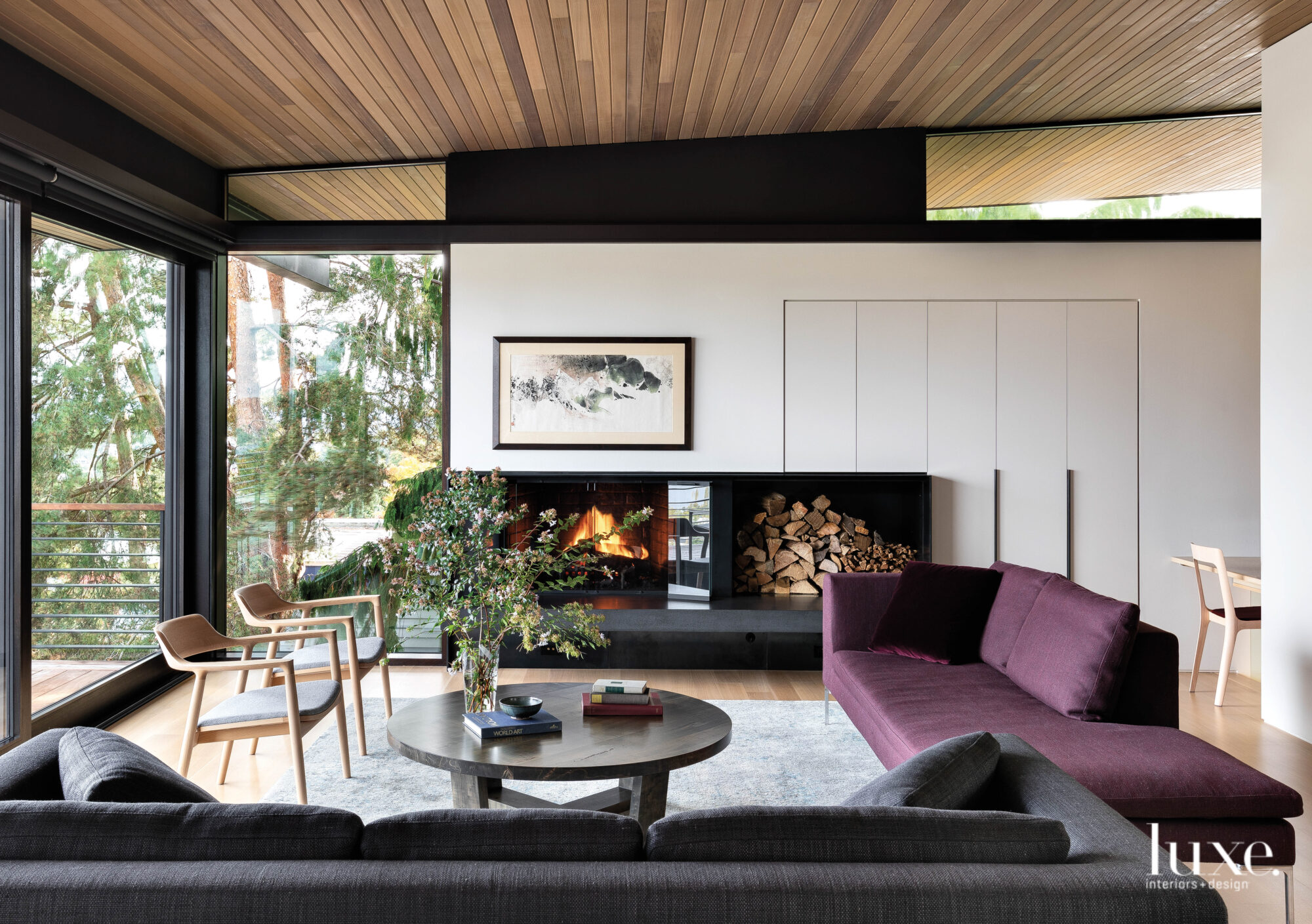 Functionality And Picturesque Surroundings Set The Stage For A Pacific Northwest Home Luxe Interiors Design