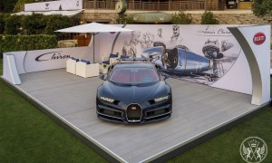 The Production Version Of Bugatti Chiron Debuted At The Quail Motorsports Gathering In Monterey
