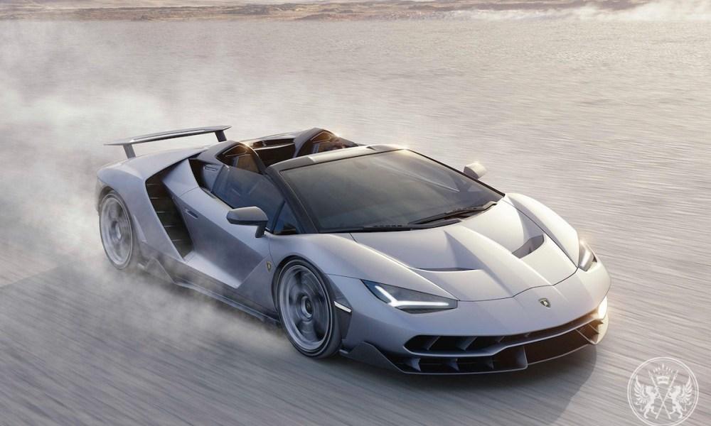 Irreproachable Lamborghini Centenario Roadster