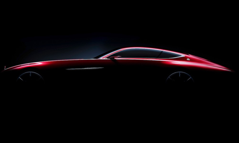 Mercedes Teases New Maybach Coupe Ahead of Its Pebble Beach Premiere