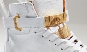 The $132,000 Buscemi 100 MM Diamond Sneakers