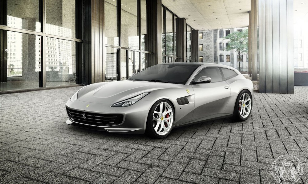 The GTC4Lusso T Is The First Four-seater With V8 Turbo in Ferrari's History