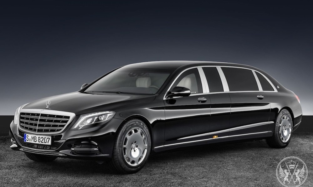 Your Luxury Is Protected: Mercedes-Maybach Pullman Guard