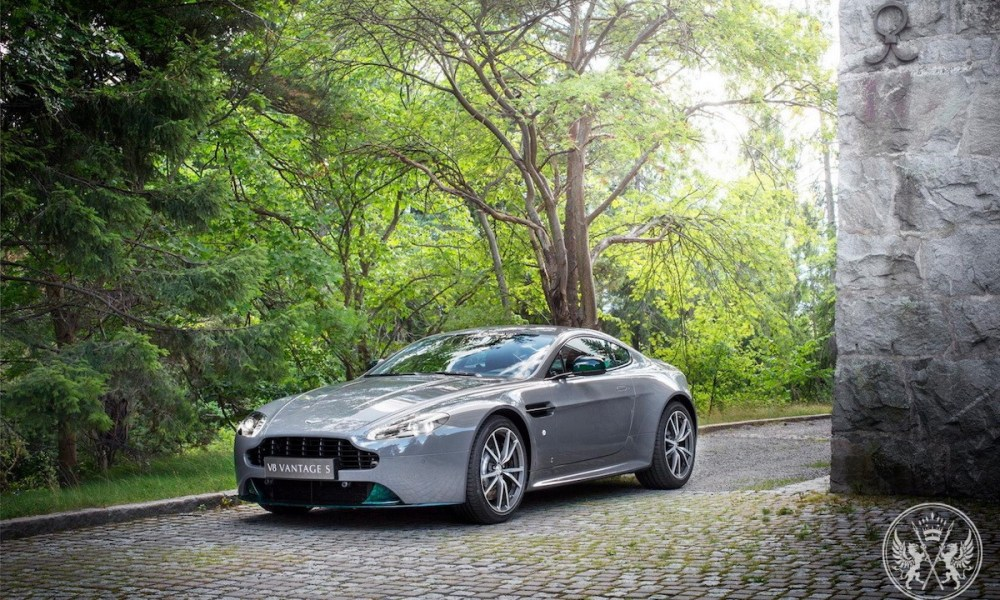 Q By Aston Martin Creates One Of Four V8 Vantage S Swedish Forest Edition