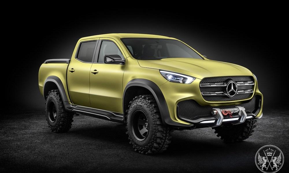 Mercedes-Benz Unveils Concept X-Class Stylish Explorer & Powerful Adventurer Pickup Trucks