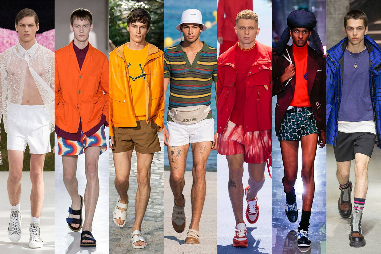 Moda Guardaroba Maschile Moda Uomo Tendenze Estate 2019 Lo Sportswear Dominerà Luxgallery