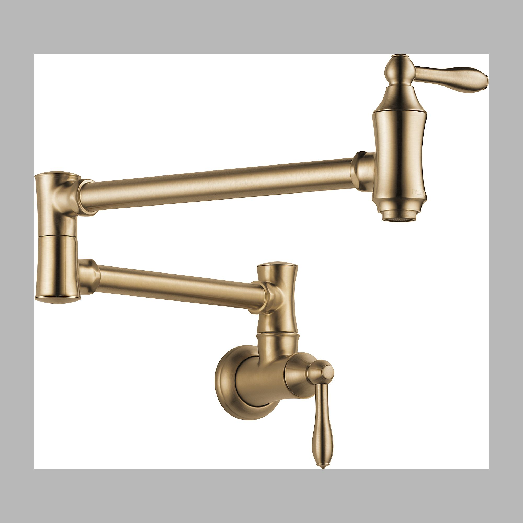 index kitchen faucet sale Delta Delta LF CZ Pot Filler Faucet Wall Mount