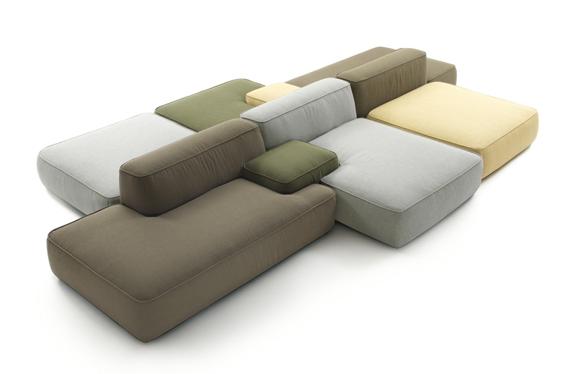 Sofa Zum Ausklappen Cloud By Francesco Rota — Luxify
