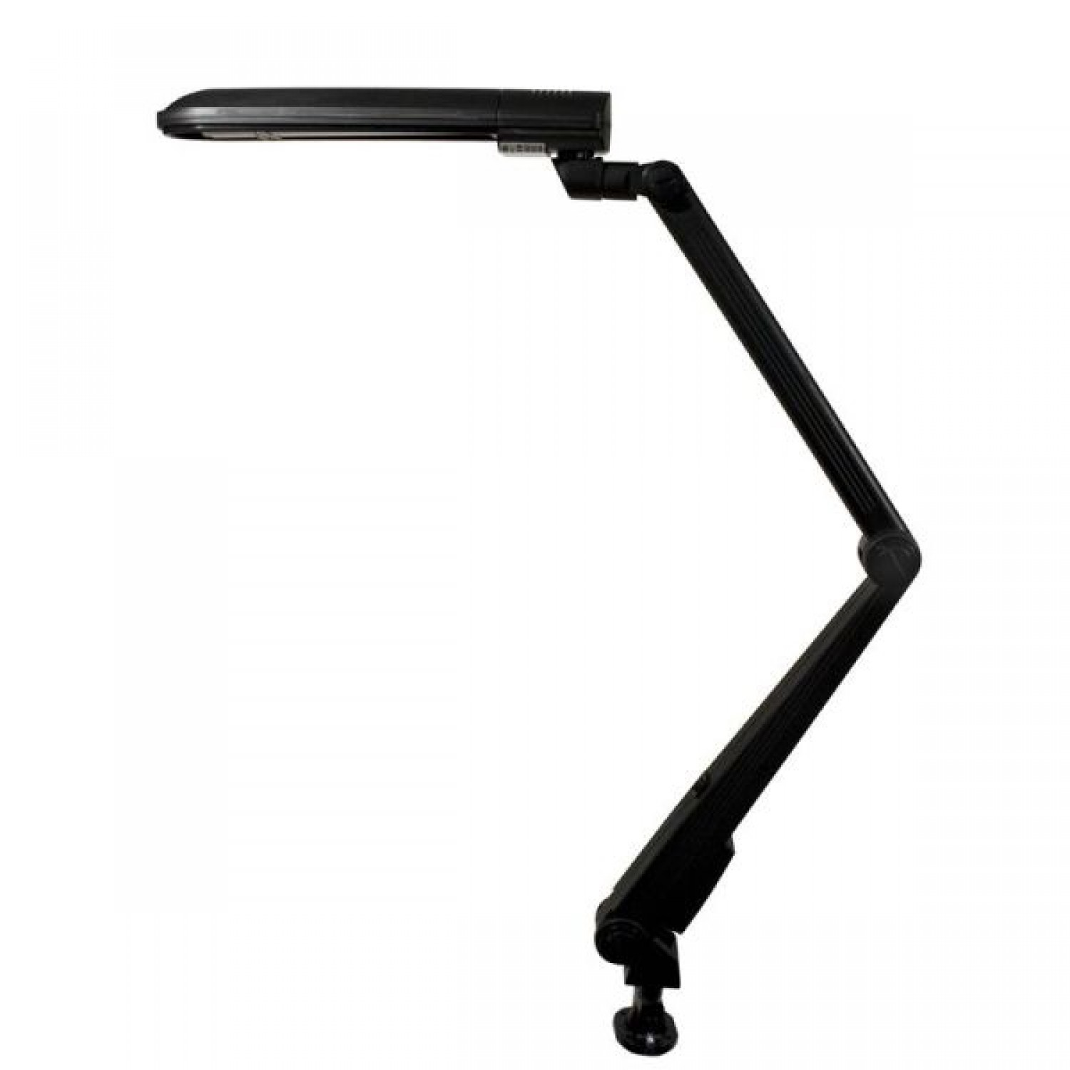 Arm Lamp Ledu Convertible Energy Efficient Long Arm Lamp Includes 18 Watt Fluorescent Bulb Matte Black 28