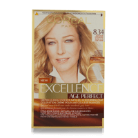 L'Oreal Excellence Age Perfect Hair Color 8.34 1 st - 4.95 ...