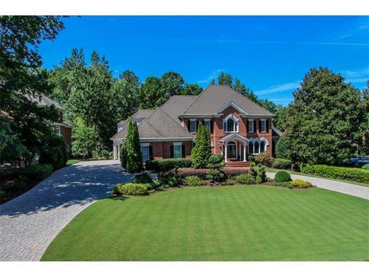 Big Beautiful Brick Estate In Johns Creek Luxury Portfolio