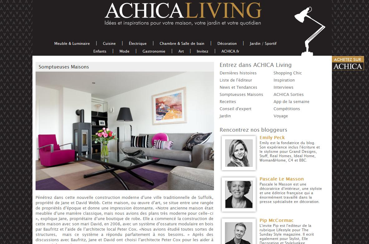Achica France Achica Fr Passion Design Luxsure
